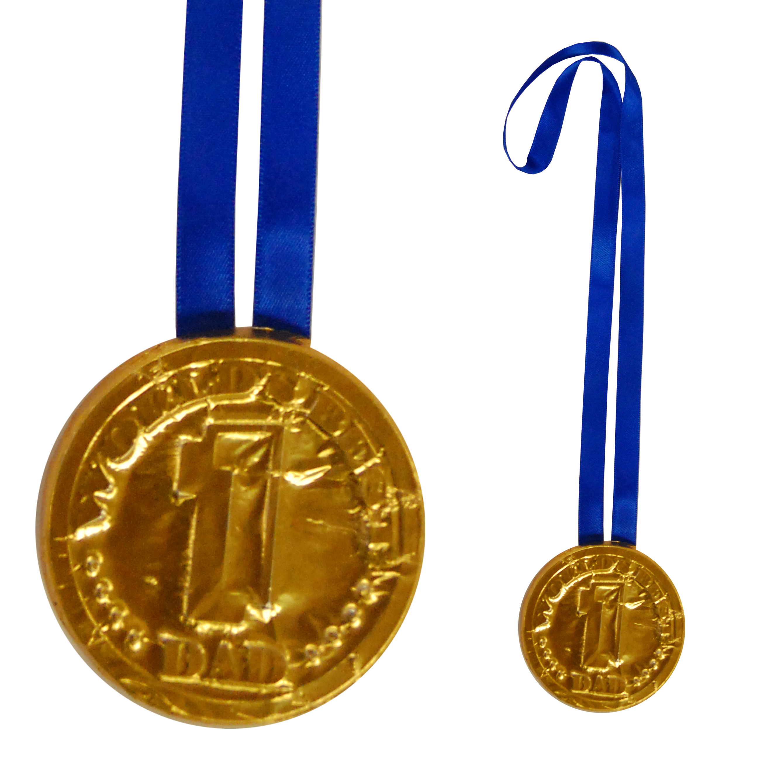 Fathers Day Chocolate Medals