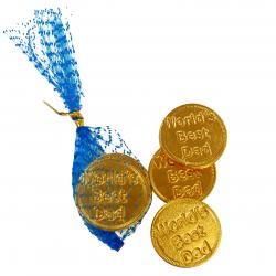 Worlds Best Dad Chocolate Coins