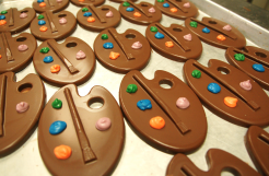 Chocolate painters pallete